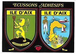 ILE D'AIX - ECUSSONS ADHESIFS - France