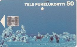 FINLAND - Reindeers, CN : C62157172, Tirage %50000, 02/96, Used - Finlande