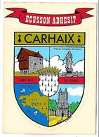 CARLHAIX - ECUSSON ADHESIF - Carhaix-Plouguer