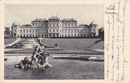 AK Wien - Belvedere - Werbestempel Nehmt Hungrige Kinder Zum Mittagstisch - 1937 (51198) - Belvédère