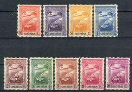 Santo Tomé E Principe 1938. Yvert A 10-18 Ref 1 (see Two Images) ** MNH. - St. Thomas & Prince