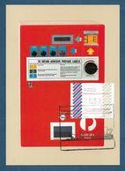 Australien 1984  ,  ATM , Balken - Maximum Card - Day Of Issue  5.Internationale Briefmarken-Messe 26.-31. Mai 1984 - Viñetas De Franqueo (ATM/Frama)