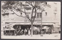 CPA - 75, PARIS,  CAFE KELLERMAN, Boulvevard Kellerman, Paris, 13  - Carte Photo. - Arrondissement: 13
