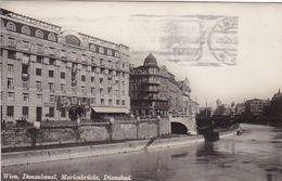 AK Wien - Donaukanal Marienbrücke Dianabad - Werbestempel Mutterschutzwerk Der Vaterländischen Front Ca. 1935 (51201) - Vienne
