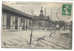 CAPDENAC - Cour De La Gare - Francia