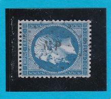 "N° 22 -  AMBULANT DE FRANCE "" MP  ""   - REF 1416 - 1862 Napoléon III"