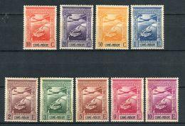 Santo Tomé E Principe 1938. Yvert A 10-18 Ref 3 (see Two Images) ** MNH. - St. Thomas & Prince