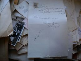 Torda Torontal Torda Nyugta 1899 14f Tax Stamps - Documenti Storici