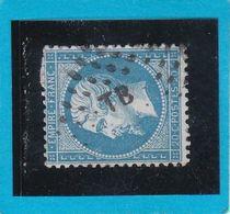 "N° 22 -  AMBULANT DE FRANCE "" TB  ""   - REF 1416 - 1862 Napoléon III"