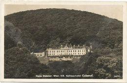 XW 3099 Hans Hübner - Wien XIX - Schloss Hotel Cobenzl / Non Viaggiata - Vienne