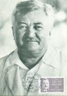 CM-Carte Maximum Card #1987-France #Célébrités-Médecine#Eugène Jamot,tropical Medic,Mediziner,Fliege,mouche,fly Tsé-tsé - 1980-89
