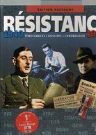 Résistance 1940:1944, Témoignages, Dossiers, Chronologie édition BRETAGNE, De 2003, 234 Pages, Format 23 X 29, Occasion - Books