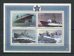 266 - AFRIQUE DU SUD (RSA) 1982 - Yvert BF 13 - Base Navale Bateau - Neuf ** (MNH) Sans Trace De Charniere - África Del Sur (1961-...)