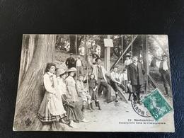 32 - MONTMORENCY Escarpolette Dans La Chataigneraie - 1908 Timbrée - Montmorency