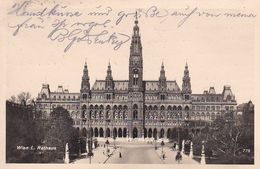 AK Wien - Rathaus - 1932 (51203) - Ringstrasse