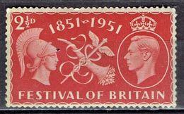 Großbritannien / Untied Kingdom - Mi-Nr 255 Postfrisch / MNH ** (B1013) - 1902-1951 (Re)