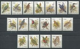 266 - CISKEI 1981 - Yvert 5/21 - Oiseau - Neuf ** (MNH) Sans Trace De Charniere - Ciskei
