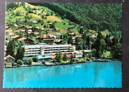 Merligen Hotel Beatus Flugaufnahme - BE Berne