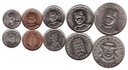 Brunei - Set 5 Coins 1 5 10 20 50 Sen 2005 - 2008 UNC / AUNC Lemberg-Zp - Brunei