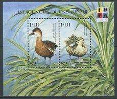 266 - FIDJI 1999 - Yvert BF 32 - Oiseau Canard - Neuf ** (MNH) Sans Trace De Charniere - Fidji (1970-...)