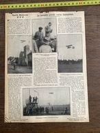 1910 JDV LA PREMIERE GRANDE COURSE D AEROPLANES LEBLANC AUBRUN ISSY LES MOULINEAUX LAGAGNEUX TROYES - Sammlungen