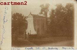 CARTE PHOTO : BAGNAROLA MALVEZZI CAPELLA DELLA MALVEZZI BOLOGNA ITALIA 1899 - Bologna