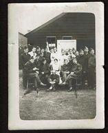 Photo 11,5 Cm X 9 Cm - WW1 - Souvenir De Mon Séjour à L'hôpital Anglo-Belge N° 2 - Calais - 1918 - 2 Scans - Guerra, Militares