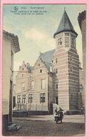 Zout-Leeuw - Achter Gevel Van Het Stadhuis - 1911 - Léau - Façade Postérieure De L'hôtel De Ville - Zoutleeuw