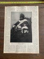 1910 JDV MOUSSA AG AMASTANE AMENOKAL CHEF TOUAREG AHAGGAR - Sammlungen