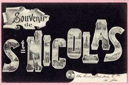 Souvenir De St.- Nicolas - 1905 - Sint-Niklaas