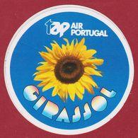 Sticker Autocollant Aufkleber TAP Air Portugal Girassol Sunflower Zonnebloem Airways Luchtvaartmaatschappij Airline - Adesivi