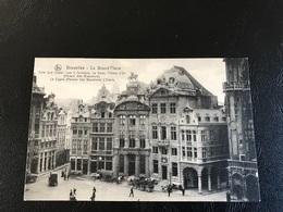 73 - BRUXELLES La Grand' Place Coté Sud Ouest - Plazas