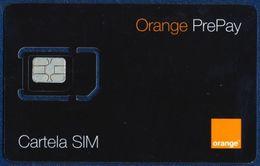 MOLDOVA - MOLDAVIA GSM (SIM) CARD ORANGE PREPAY BLACK MINT UNUSED - Moldavia