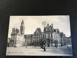 176 - BRUXELLES St Gilles Hotel Communal - Monumentos, Edificios