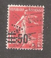 Perforé/perfin/lochung France No  225 VF Venot Frères & Cochot - France