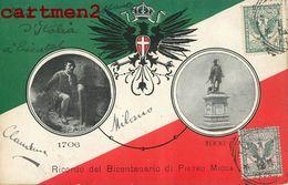RICORDO DEL BICENTENARIO DI PIETRO MICCA 1706-1906 TORINO ITALIA ESPANA GUERRA  CITADELLE CHAMBREY PIEMONT SAVOIE - Personaggi