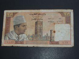 10 Dirhams 1968 Maroc - Banque Du Maroc  **** EN ACHAT IMMEDIAT **** - Maroc