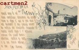 SAN MICHEL DI PAGANA PALAZZAO RAPPALO ITALIA 1898 - Italia