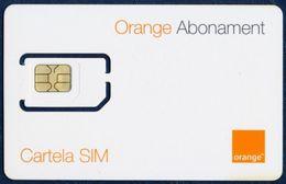 MOLDOVA - MOLDAVIA GSM (SIM) CARD ORANGE ABONAMENT PERFECT MINT UNUSED - Moldavia