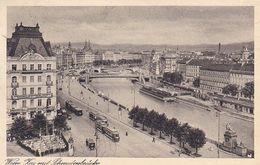 AK Wien - Kai Mit Schwedenbrücke - 1931 (51209) - Wien Mitte