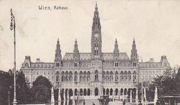 AK Wien - Rathaus - Straßenbahn - 1908 (51210) - Ringstrasse