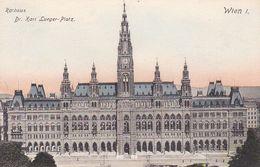 AK Wien - Rathaus - Dr. Karl Lueger-Platz - Ca. 1910 (51211) - Ringstrasse