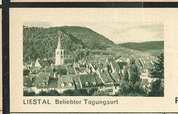 Carte Neuve Illustrée N° 182 - 0236 C ( LIESTAL Beliebter Tagunssort ) - Stamped Stationery