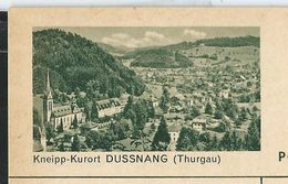Carte Neuve Illustrée N° 182 - 0188 C  ( Kneipp-Kurort DUSSNANG (Thurgau ) - Stamped Stationery