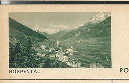 Carte Neuve Illustrée N° 182 - 0168 C ( HOSPENTAL ) - Stamped Stationery