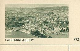 Carte Neuve Illustrée N° 182 - 0214 C ( LAUSANNE - OUCHY ) - Stamped Stationery
