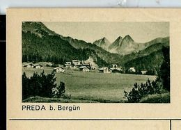 Carte Neuve Illustrée N° 182 - 0293 C ( PREDA B. Bergün ) - Stamped Stationery