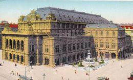 AK Wien - K.k. Oper - Straßenbahn - Ca. 1910  (51216) - Ringstrasse