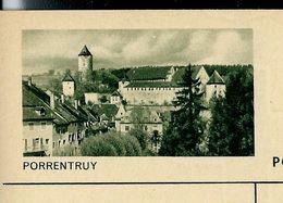 Carte Neuve Illustrée N° 182 - 0291 C ( PORRENTRUY ) - Stamped Stationery