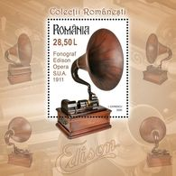Romania 2020 / Phonographs / S/S - 1948-.... Repubbliche